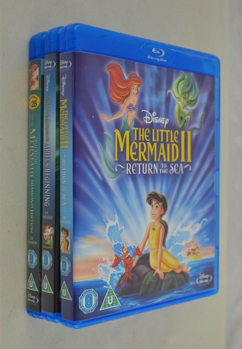 The Little Mermaid 3 Movie Collection [Blu-ray]