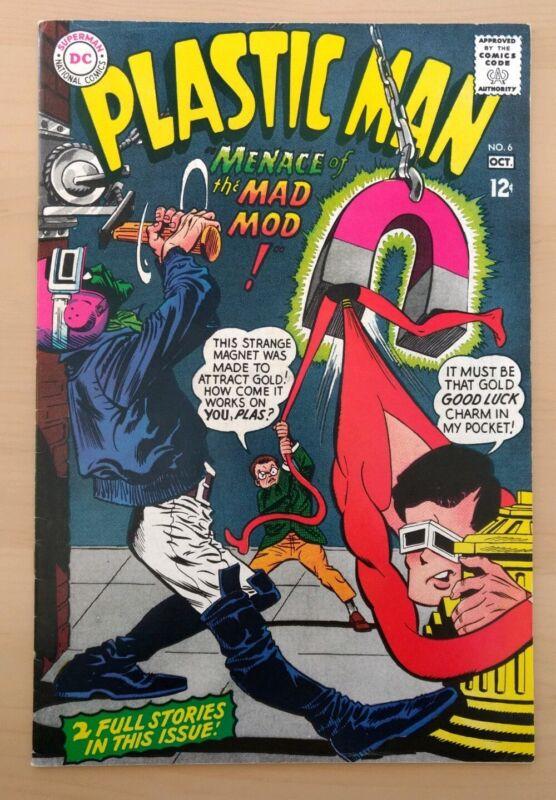 Plastic Man #6. DC Comics 1966. VF