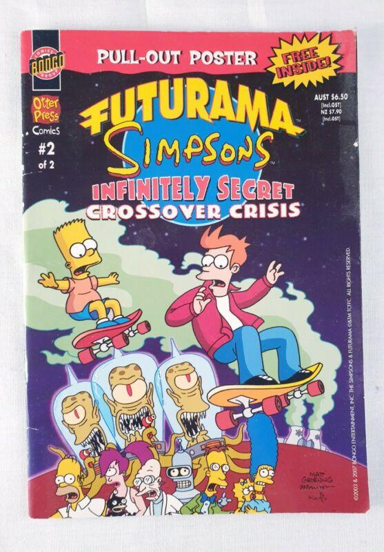 Futurama Simpsons Infinitely Secret Crossover Crisis #2