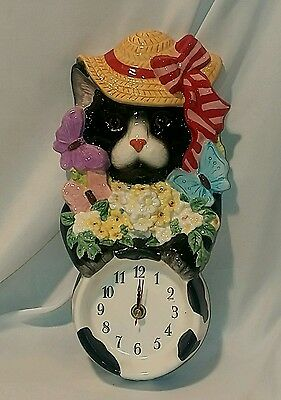 Decorative Wall Clock GIFT Art Decor Cat Kitty Stylish - Pacific Rim (Cat Art Decorative Wall Clock)