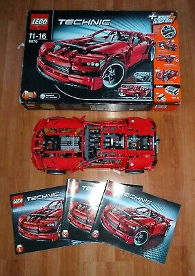 LEGO Technic Super car (8070) 2 in 1 Complete with box.  Power Functions
