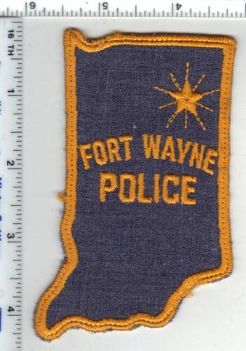 Fort Wayne Police (Indiana)1st Issue Uniform Take-Off Shoulder Patch