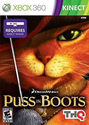 THQ Puss In Boots Xbox 360 Xbox 360