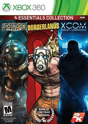 2K Essentials Collection (Bioshock, Borderlands, Xcom Enemy Unkown) Xbox 360 New for sale  Shipping to Canada