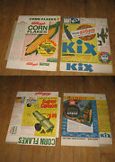 Kix Cereal Box