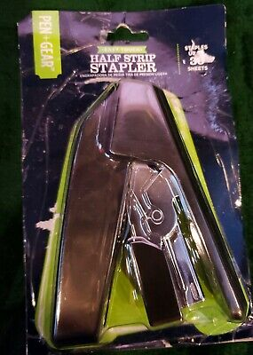 Pen Gear Easy Touch Half Strip Stapler Staples Up-to 30 Sheets Nip
