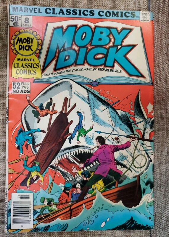 Marvel Moby Dick #8 Comic
