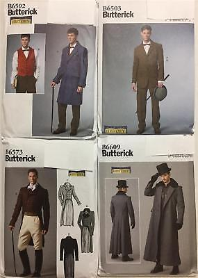 Butterick Pattern Mens Costumes Renaissance Steampunk Cosplay New You Pick (Steampunk Cosplay Costumes)
