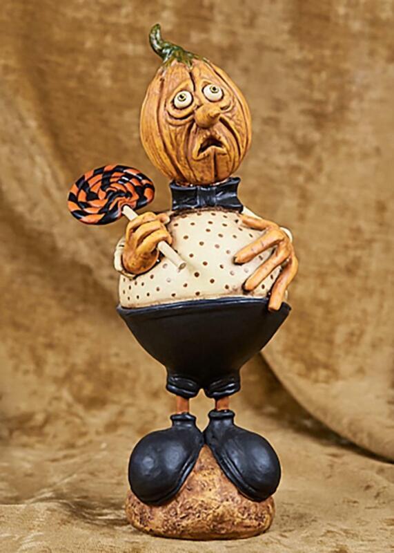 Lollipop Louie - Halloween Pumpkin Head - David Everett ESC - 87002