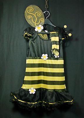 Juniors Teen Girls Hunny Bee Bumblebee Costume 9-11