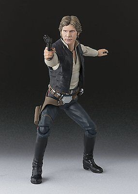 Bandai S.H.Figuarts Star Wars HAN SOLO A New Hope Action Figure