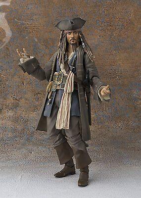 BANDAI S.H.Figuarts Captain Jack Sparrow Pirates of the Caribbean Dead men JAPAN