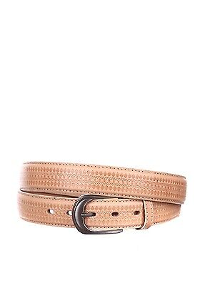 Belts  Fashion Men Natural Leather Beige  Black Trouser Leather Straps Great