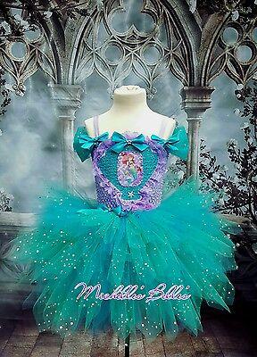 Ariel The little mermaid style premium tutu dress party dress - The Little Mermaid Tutu