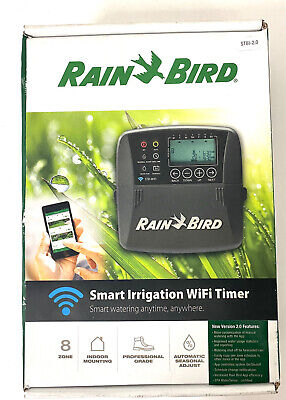 Rain Bird ST8I-2.0/ST8I-WIFI 8-Station WiFi Compatible Smart Irrigation Timer