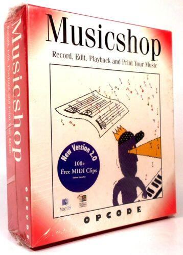 PC Musicshop - Windows & Mac Brand New Sealed