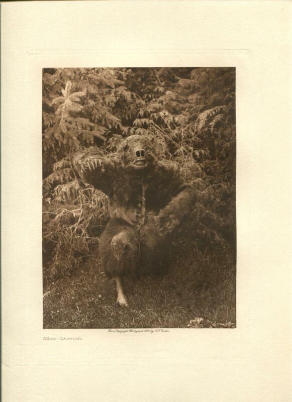 1914 Original Photogravure | Edward Curtis | Nane Qagyuhl