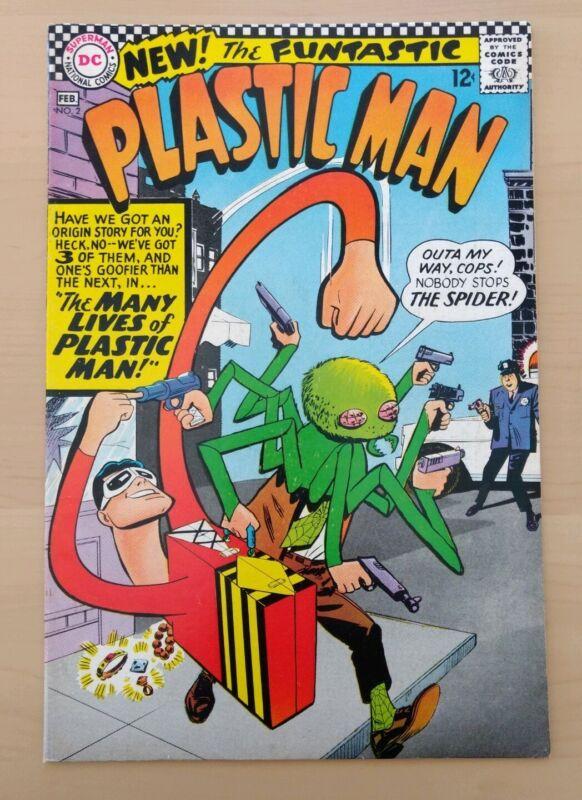 Plastic Man #2. DC Comics 1966. VF