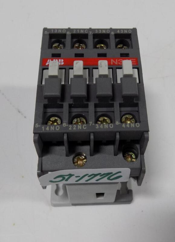 ABB 110-120V 50/60HZ CONTACTOR RELAY N31E
