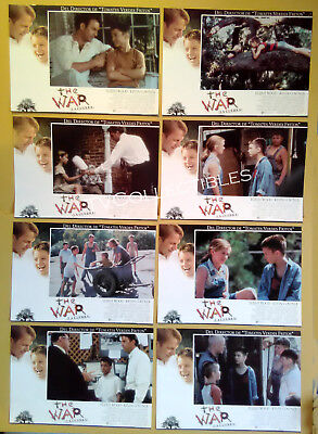 Lobby Card Set x 12~ THE WAR ~1994 ~Kevin Costner ~Elijah Wood ~Lucas Black ~CS