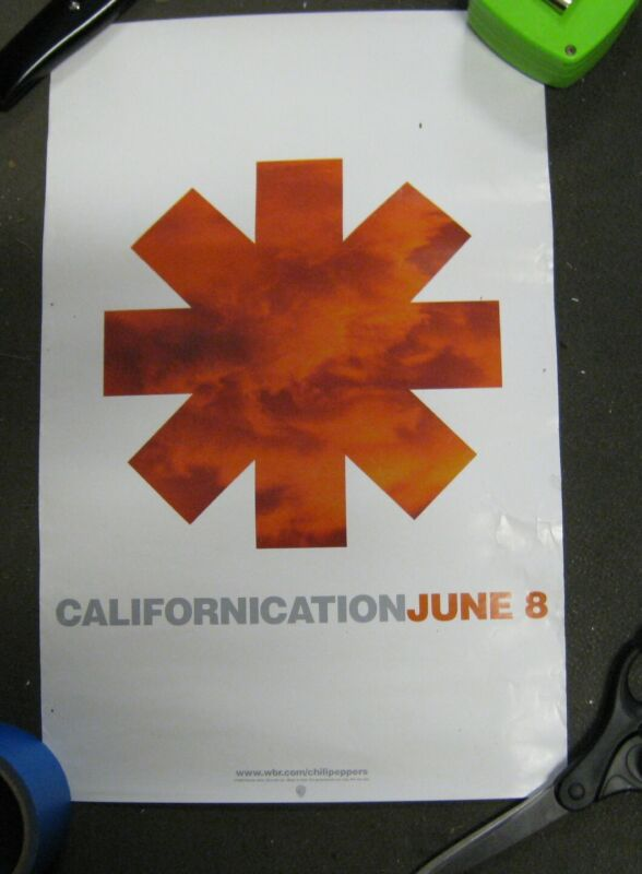 The Red Hot Chili Peppers Poster Californication