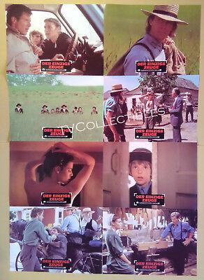 Lobby Card Set~ WITNESS ~1985 ~Harrison Ford ~Kelly McGillis ~Lukas Haas ~CS