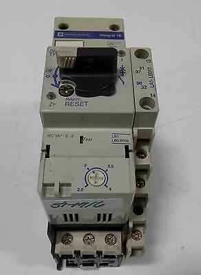Telemecanique Integral 18 Motor Starter Ld1 Lb030 La1 Lb017 Switch