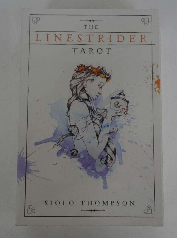 The Linestrider Tarot 2016 Siolo Thompson Sealed 78-card Deck with Book