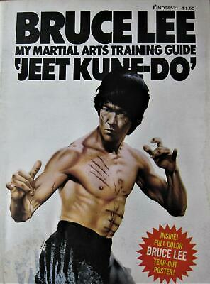 RARE 1974 BRUCE LEE MY MARTIAL ARTS TRAINING GUIDE JEET KUNE DO KARATE KUNG FU