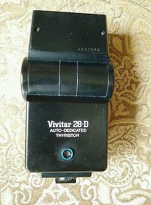 Вспышки Vivitar 28-D Auto- Dedicated Thyristor