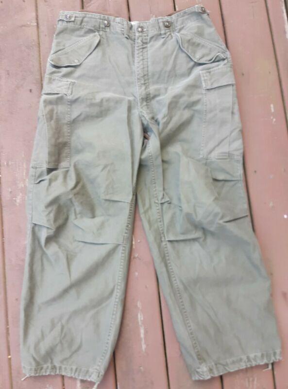 Medium Regular US Army Military M1951 Field Uniform Pants