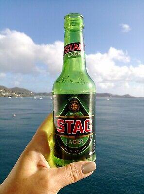 STAG Grenada Bierflaschenetikett Etikett Bier 2-tlg. Karibik Caribbean; K1