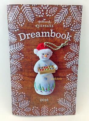2016 Hallmark Keepsake Dream Book Ornament Figurine Collectors Reference 88 page