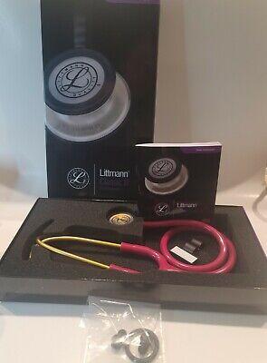 3m Litttmann Classic Iii Pink Stethoscope