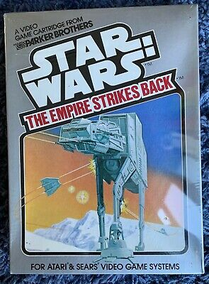 STAR WARS THE EMPIRE STRIKES BACK ATARI - NEW SEALED - 1982 PARKER BROTHERS