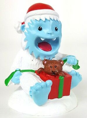 YETI SURPRISE Aquarium Fish Tank Christmas Figurine Abominable Snowman Top Fin (Abominable Snowman Decoration)