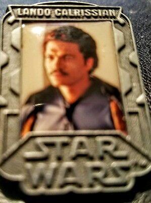 Disney Pin 00 Star Wars Episode Iii Collection Lando Calrissian U K  Release