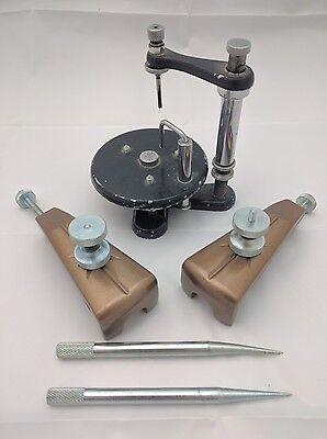 Vintage Lot Of Dental Dentist Tools Hh Surveyor Stand