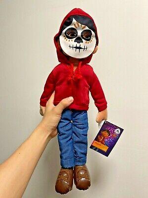 NWT Disney Pixar Coco Miguel Plush Doll w/ Mask, Día de Muertos Day of the Dead