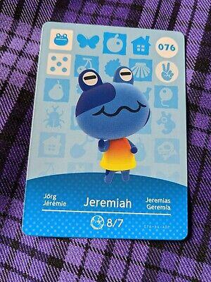Jeremiah Animal Crossing Amiibo No.076 Official Series 1