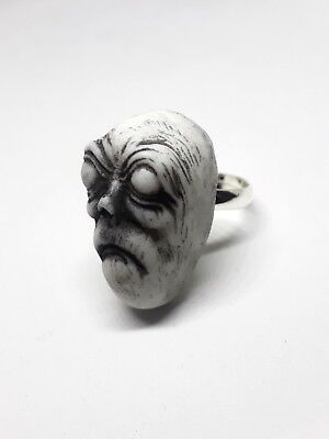 Crone Witch Ring Handmade Horror Occult Gothic (Witches Ring)