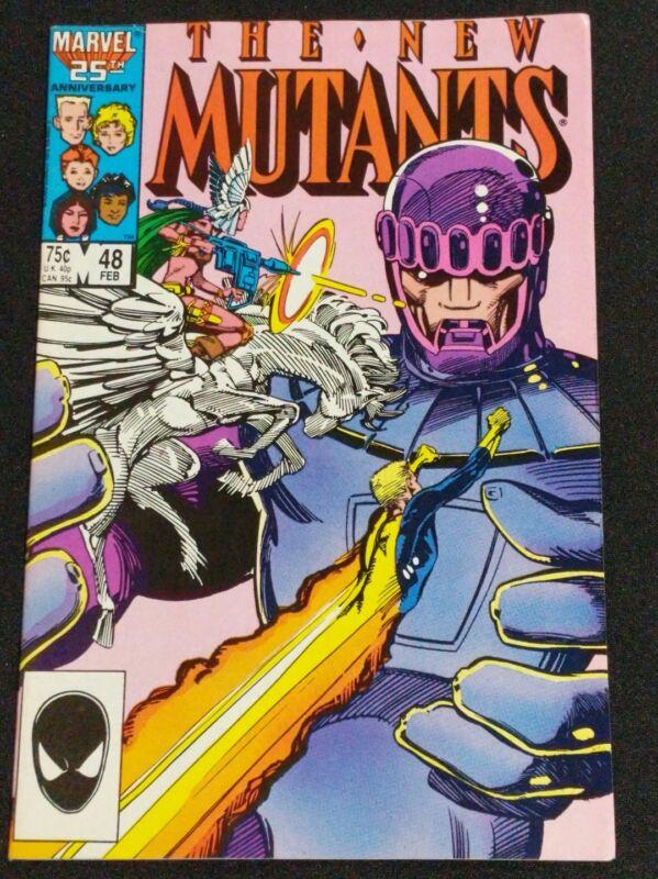 The New Mutants #48 (MARVEL 1987) SENTINELS- NEW MUTANTS MOVIE X MEN