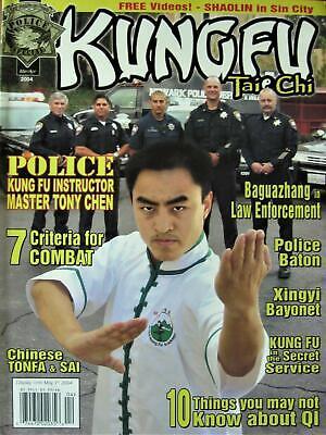 3/04 KUNG FU TAI CHI MAGAZINE TONY CHEN CHINESE TONFA & SAI KARATE MARTIAL ARTS