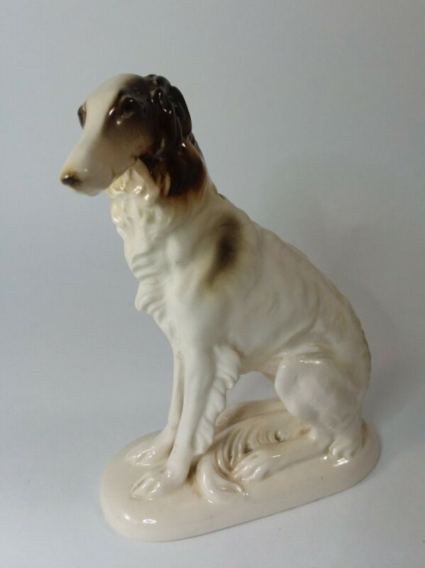 "Vtg Afghan Hound Dog Hertwig Made in Germany 4 1/2"" x 6 1/2"""