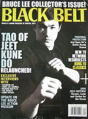 12/11 BLACK BELT  BRUCE & SHANNON LEE JERRY POTEET KARATE KUNG FU MARTIAL ARTS comprar usado  Enviando para Brazil