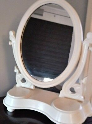 Shabby Chic Genuine Antique  Victorian Dressing Table Mirror In  Exc/t Condition