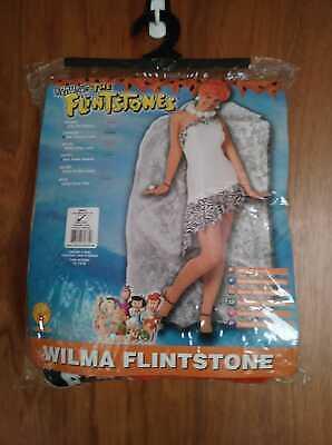 NIP Adult Wilma Flintstone Halloween Costume Size Small (6 - 10)