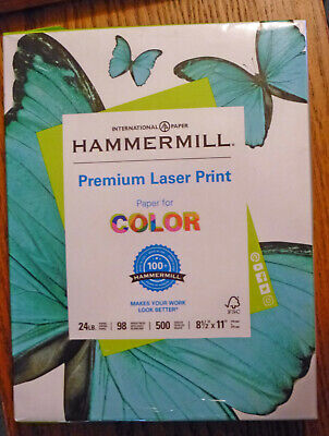 Hammermill Premium Laser Print Paper 500 Sheet 24lb. 98 Brightness