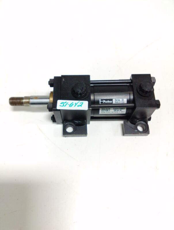 PARKER HYDRAULIC CYLINDER SERIES 2A 250 PSL