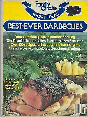 Bbq Food Ideas (Family Circle Great Ideas Best Ever Barbecues May 1978)
